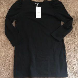 Zara Puff Steve Tunic Sweatshirt